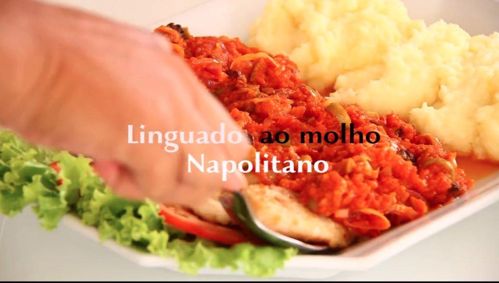 Imagem de um prato com linguado